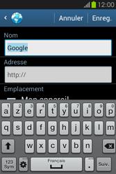 Samsung S6810P Galaxy Fame - Internet - navigation sur Internet - Étape 7