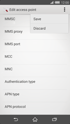 Sony Xperia Z2 (D6503) - MMS - Manual configuration - Step 15