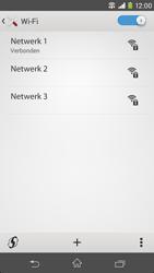 Sony D2303 Xperia M2 - WiFi - Verbinden met een netwerk - Stap 9