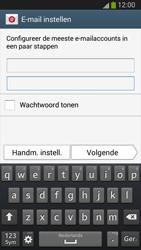 Samsung I9300 Galaxy S III - E-mail - handmatig instellen (outlook) - Stap 6