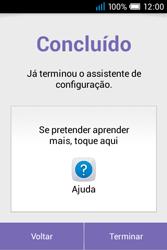 Alcatel POP C1 - Primeiros passos - Como ligar o telemóvel pela primeira vez -  10