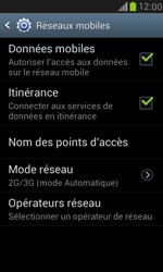 Samsung I8190 Galaxy S III Mini - Réseau - Changer mode réseau - Étape 6