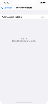 Apple iphone-xs-max-met-ios-13-model-a1921 - Software updaten - Update installeren - Stap 6