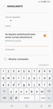 Samsung Galaxy Note 8 - E-mail - Configurar correo electrónico - Paso 14