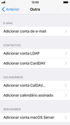 Apple iPhone SE - iOS 11 - Email - Configurar a conta de Email -  7