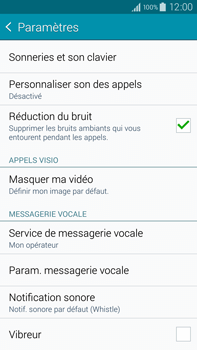 Samsung N910F Galaxy Note 4 - Messagerie vocale - configuration manuelle - Étape 8