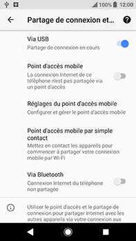 Sony Xperia XA2 Ultra - Internet et connexion - Utiliser le mode modem par USB - Étape 11