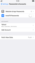 Apple iPhone 6 - iOS 12 - E-mail - Manual configuration (yahoo) - Step 9