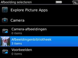 BlackBerry 9780 Bold - MMS - Afbeeldingen verzenden - Stap 11