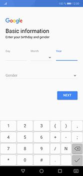 Huawei P20 Lite - Applications - Create an account - Step 7