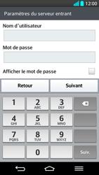 LG G2 - E-mail - Configuration manuelle - Étape 11