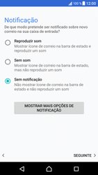Sony Xperia XZ - Android Nougat - Email - Adicionar conta de email -  14