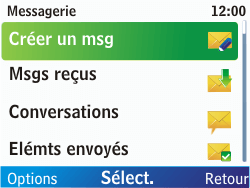 Nokia C3-00 - Mms - Envoi d