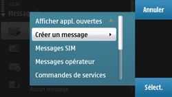 Nokia N97 - E-mail - envoyer un e-mail - Étape 4