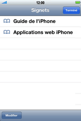 Apple iPhone 4 S - Internet - navigation sur Internet - Étape 2