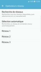 Samsung G935 Galaxy S7 Edge - Réseau - Sélection manuelle du réseau - Étape 8