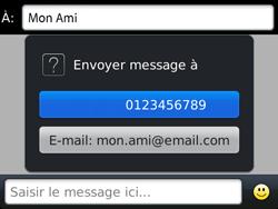 BlackBerry 9720 - Contact, Appels, SMS/MMS - Envoyer un MMS - Étape 8