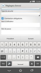Sony Xperia Z2 (D6503) - E-mail - Configuration manuelle - Étape 13