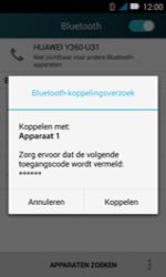 Huawei Y3 - Bluetooth - koppelen met ander apparaat - Stap 9
