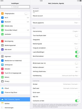 Apple iPad Pro 12.9 (1st gen) - iOS 9 - E-mail - Handmatig instellen - Stap 27