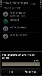 Nokia E7-00 - Wifi - handmatig instellen - Stap 10
