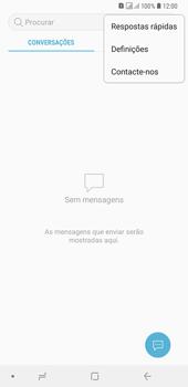 Samsung Galaxy A6 Plus DualSim - SMS - Como configurar o centro de mensagens -  5