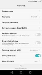 Huawei Y6 (2017) - SMS - Como configurar o centro de mensagens -  9