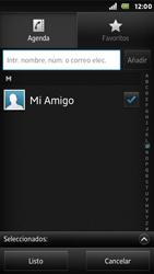 Sony Xperia U - Mensajería - Escribir y enviar un mensaje multimedia - Paso 8