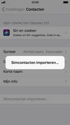 Apple iPhone 5s - iOS 11 - contacten, foto
