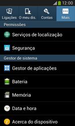 Samsung Galaxy Grand Neo - Segurança - Como ativar o código PIN do cartão de telemóvel -  5