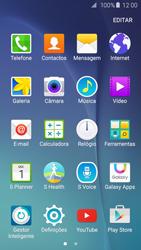 Samsung Galaxy S6 - Email - Adicionar conta de email -  3