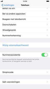 Apple iPhone 8 Plus (Model A1897) - Beveiliging en ouderlijk toezicht - Hoe wijzig ik mijn SIM PIN-code - Stap 4