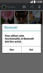 LG F70 - Photos, vidéos, musique - Envoyer une photo via Bluetooth - Étape 9