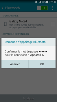Samsung N910F Galaxy Note 4 - Bluetooth - connexion Bluetooth - Étape 9