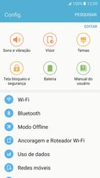 Samsung Galaxy S7 - Wi-Fi - Como usar seu aparelho como um roteador de rede wi-fi - Etapa 4