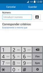 Samsung Galaxy J1 - Chamadas - Como bloquear chamadas de um número -  8