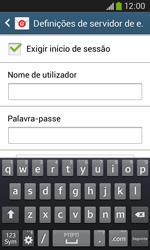 Samsung Galaxy Ace 3 LTE - Email - Configurar a conta de Email -  14