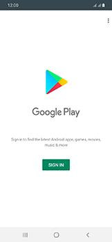 Samsung Galaxy A20e - Applications - Create an account - Step 4