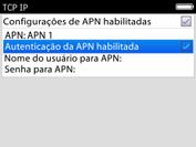 BlackBerry 9620 - Internet (APN) - Como configurar a internet do seu aparelho (APN Nextel) - Etapa 9
