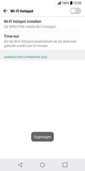 LG Q6 (LG M700n) - WiFi - Mobiele hotspot instellen - Stap 8