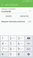 Samsung Galaxy S6 Android M - Chamadas - Como bloquear chamadas de um número -  10