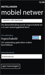 Nokia Lumia 710 - Bellen - in het buitenland - Stap 5
