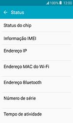 Samsung Galaxy J1 - Primeiros passos - Como encontrar o número de IMEI do seu aparelho - Etapa 6