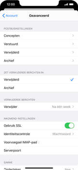 Apple iphone-xs-max-met-ios-13-model-a1921 - E-mail - Instellingen KPNMail controleren - Stap 22