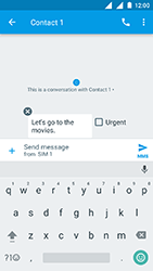 Nokia 3 - MMS - Sending a picture message - Step 11