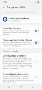 Samsung Galaxy A20e - Appareil - configurer Localiser mon appareil - Étape 8