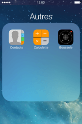 Apple iPhone 4S - Contact, Appels, SMS/MMS - Ajouter un contact - Étape 4
