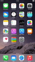 Apple iPhone 6 Plus iOS 8 - WiFi and Bluetooth - Manual configuration - Step 1