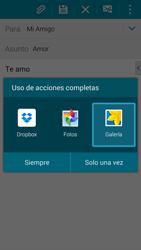 Samsung G900F Galaxy S5 - E-mail - Escribir y enviar un correo electrónico - Paso 13