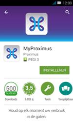 Huawei Y3 - Applicaties - MyProximus - Stap 7